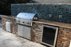 outdoor kitchen backsplash decorative ceramic wall tile backsplash with brick styled cabinet