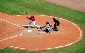 Home Plate Baseball Free Images Structure Swing Baseball Field Pitch Ballpark