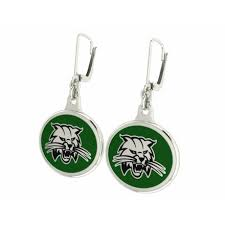 earrings for school school spirit bobcat earrings cornwell jewelers