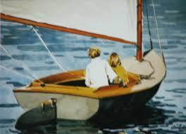 wa 15 u201cchildren sailing a beetle cat bass river cape cod u201d ann