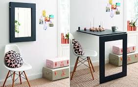Fold Out Convertible Desk How To Make Mirror Folding Table Diy U0026 Crafts Handimania