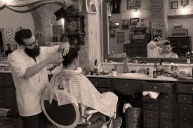 old fashinoned hairdressers and there salon potos figaro s barbershop lisbon s authentic american themed hair salon