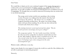 Charity Thank You Letter Sample patriotexpressus inspiring letters fundraising and the heroes on