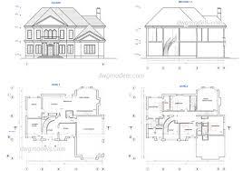 Cool Cad Drawings House Plans Cad Ucda Us Ucda Us
