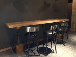 Industrial Bar Table Industrial Style Tables With Reclaimed Wood Antique Woodworks