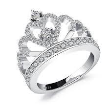 diamond jewelry rings images Heart crown diamond ring venestia jpg