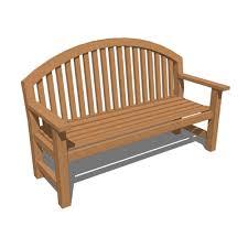 3d Bench Smith Hawkens Giverny Bench 3d Model Formfonts 3d Models U0026 Textures