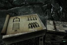 Drafting Table Skyrim Skyrim Hearthfire Dlc Steps In Purchasing Your Plot Of Land