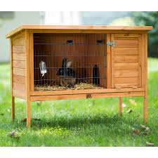Large Rabbit Hutch With Run Large Rabbit Hutch 461 Prevue Pet Products