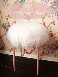 preciously me blog diy mongolian stool