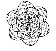 mandalas flores colorear imprimir