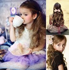 Festliche Frisuren Lange Haare Kinder by Sanfte Wellen Lange Haare Frisuren Fur Kinder