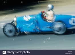 vintage bugatti vintage bugatti racing car in action stock photo royalty free