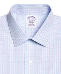 brooks brothers supima cotton noniron regular fit spread collar