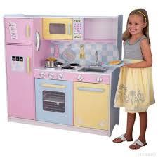 cuisine enfant kidkraft kidkraft cuisine enfant en bois large pastel b0017jbr6o