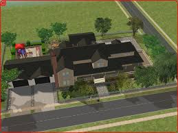 2 Family House Plans House Plans For Sims 2 Double Deluxe House And Home Design