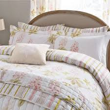 sanderson chestnut tree quilt cover set pink jarrold norwich