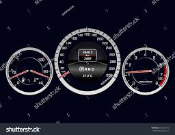 car dashboard realistic car dashboard stock vector 570300115 shutterstock