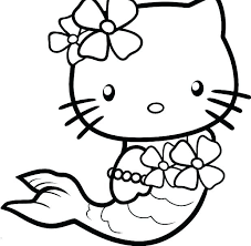 coloring page of a kitty kitty cat coloring page kitty color pages hello kitty coloring pages