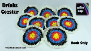 crochet bands rainbow loom target drinks coasters mats loom less crochet