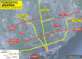 Ontario Mills Map Ontario Agrees To Fund Yet Another Lrt Line In Toronto The