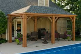 backyard pavillion inspirational backyard pavilions st louis