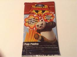 kungfu panda 2 trading card fun pack
