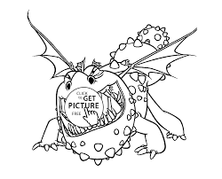 cartoon coloring pages to train your dragon coloring pages for kids printable free