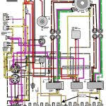 mastertech marine evinrude johnson outboard wiring diagrams in