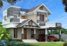 style home design modern kerala style house design with 4 bhk