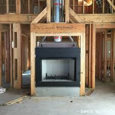 new house update plumbing hvac electrical and fireplace