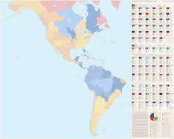 North America And South America Map by North And South America 2018 By Imdeadpanda On Deviantart