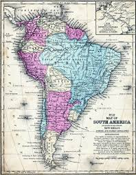 Latin America Countries Map by Latin American Wars