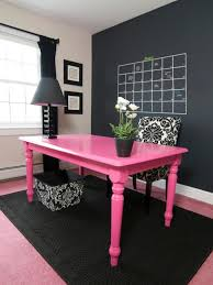 41 sophisticated ways to style your home office loombrand feminine home office with black white and pink decor