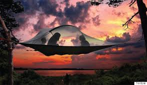 hammock tents will have you sleeping in the heavens huffpost