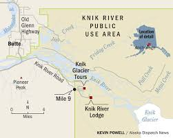 Alaska Rivers Map by Fat Tire Bikers Flock To Knik Glacier And Locals Take Note