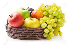 fruit in a basket fruit basket stock photos royalty free business images