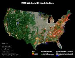 Fires Near Denver Map by Wui Maps Wildfire Risk In The Wildland Urban Interface Ecowest