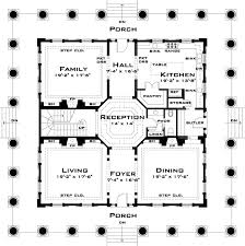 antebellum home plans plan 44055td revival with tour southern