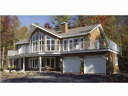 House Plans For Wide Lots Home Plans With A Great View At Dream Home Source Big Windows