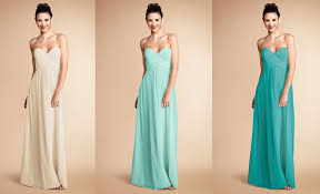 coloured dress mismatched bridesmaids donna wedding and weddings