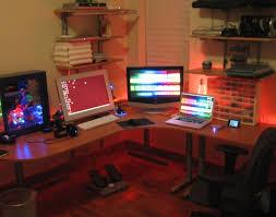 Computer Desk Setup Desk Desks Awesome Gaming Computer Desk Setup Current Home
