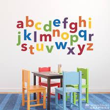 alphabet wall decal de0006 stephen edward graphics alphabet wall decal de0006