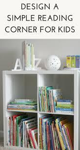 kids corner bookcase design a simple kids reading corner u2013 target made me do it