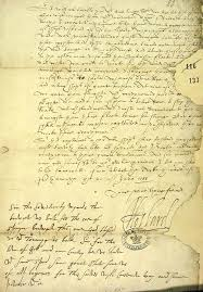 lord howard of effingham u0027s letter on the spanish armada to sir