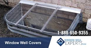 basement window well window well covers made in the usa unbreakable