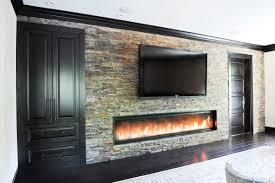 8 u0027 0 u201d custom fireplace built in storage ledge stone flat screen
