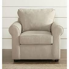 Slipcovered Arm Chair Farmhouse Accent Chairs Birch Lane