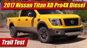 nissan titan cummins price 2017 nissan titan xd pro4x diesel trail test youtube