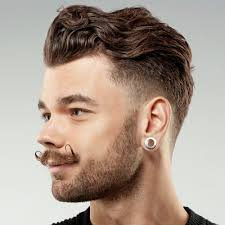 short haircuts eith tapered sides 50 short hairstyles for men in 2016